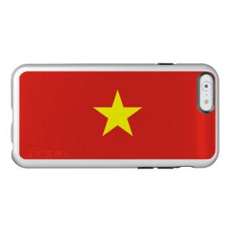 ベトナムの銀製のiPhoneの場合の旗 Incipio Feather Shine iPhone 6ケース