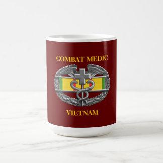 ベトナムサービスリボンの背景CMBのマグ コーヒーマグカップ