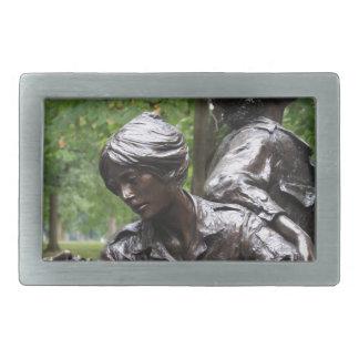 ベトナムレディース記念物 長方形ベルトバックル