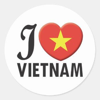 ベトナム愛 ラウンドシール