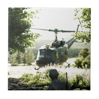 ベトナム戦争の記念物ニューメキシコ 正方形タイル小