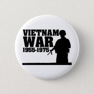 ベトナム戦争1955-1975年 5.7CM 丸型バッジ