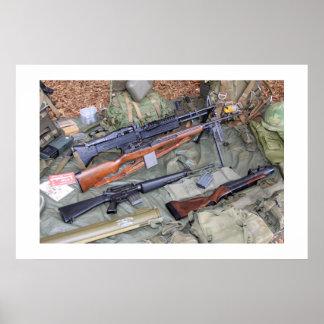 ベトナム時代の武器及びギア ポスター