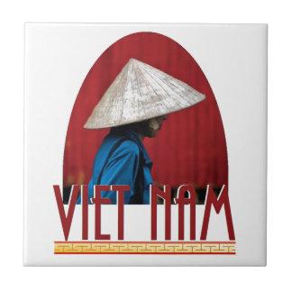 ベトナム 正方形タイル小