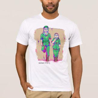 ベトナムRecolored [1967年]まれな写真のTシャツを漏らしました Tシャツ