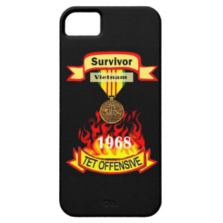 ベトナムTetの攻撃的な生存者のIPhone 5の例 iPhone SE/5/5s ケース