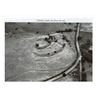 ベドフォードの城の小山 ポストカード