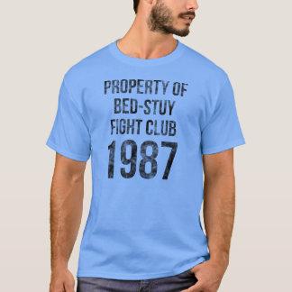 ベドフォードStuyvesantブルックリンのベッドStuyの戦いクラブ87 Tシャツ