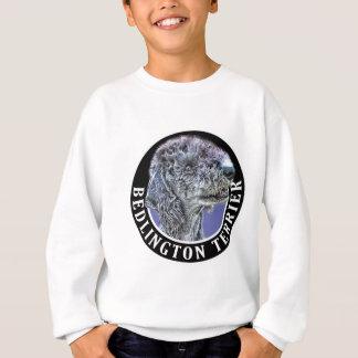 ベドリントン・テリア犬002 スウェットシャツ