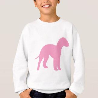 ベドリントン・テリア(ピンク) スウェットシャツ