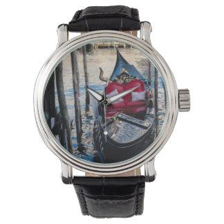 ベニスのゴンドラの乗車の時間 腕時計