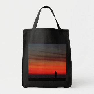 ベニスのビーチの日没 トートバッグ