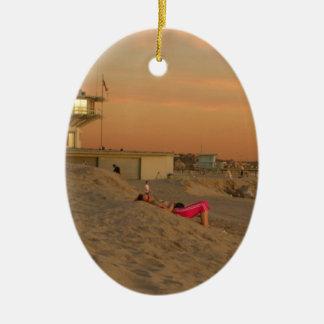 ベニスのビーチ セラミックオーナメント