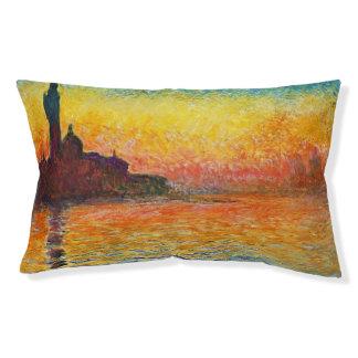 ベニスの印象派の芸術のクロード・モネの日没