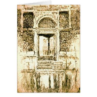 ベニスの戸口1885年 カード