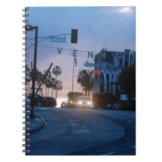 ベニスの日没 ノートブック