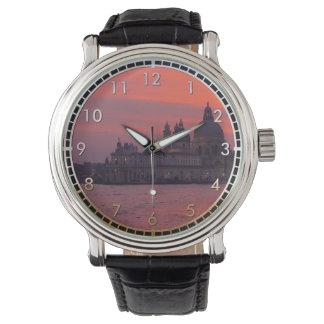 ベニスの日没 腕時計