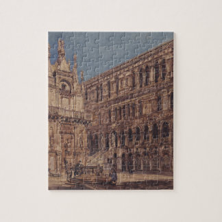 ベニスの総督の宮殿の中庭 ジグソーパズル
