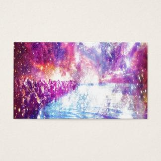 ベニスの虹の宇宙 名刺