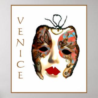 ベニスの謝肉祭、イタリアの芸術ポスター ポスター