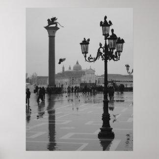 ベニスの雨の日 ポスター