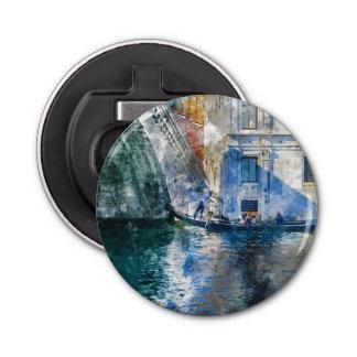 ベニスイタリアの大運河のゴンドラ 栓抜き