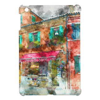 ベニスイタリアの近くのBuranoイタリア iPad Miniケース