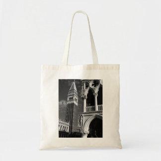 ベニスサンMarcoタワー及び総督宮殿 トートバッグ