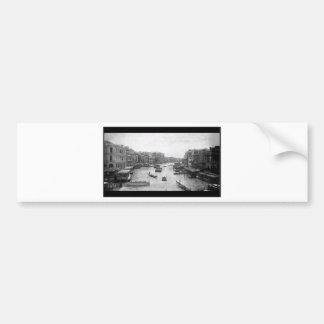 ベニス運河 バンパーステッカー