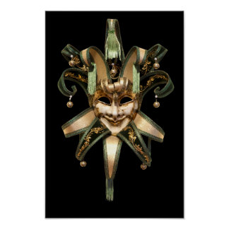 ベニス風のマスク ポスター