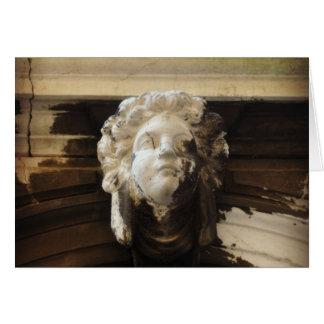 ベニス風の天使の彫像 カード