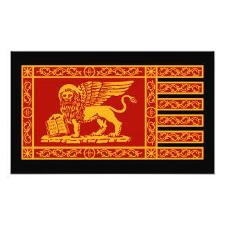 ベニス風の旗 フォトプリント
