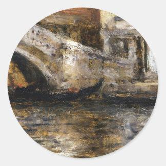 ベニス風運河(別名ゴンドラに沿うゴンドラ ラウンドシール
