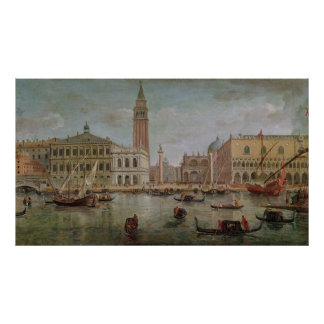 ベニス1719年の眺め ポスター