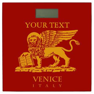 ベニス、イタリアの共和国の紋章付き外衣 体重計