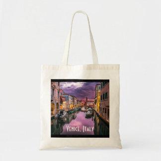 ベニス、イタリアの景色運河及びベニス風の建築 トートバッグ