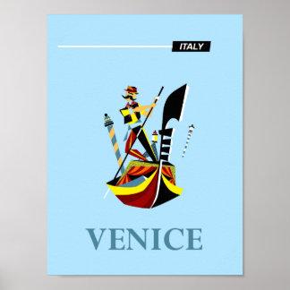 ベニス、イタリア旅行ポスター ポスター