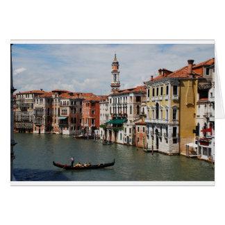 ベニス、イタリア カード