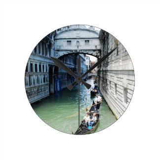 ベニス、イタリア ラウンド壁時計
