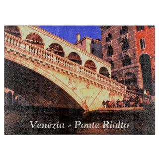 ベニス、イタリア- Ponte Rialto カッティングボード