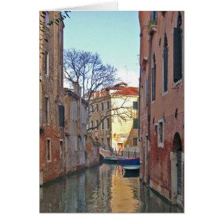 ベニス-運河 カード