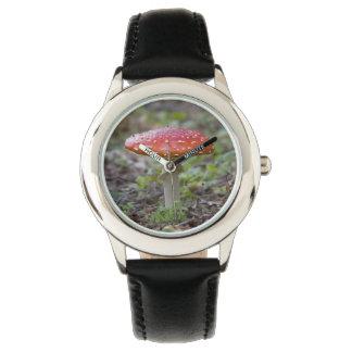 ベニテングタケのToadstool 腕時計