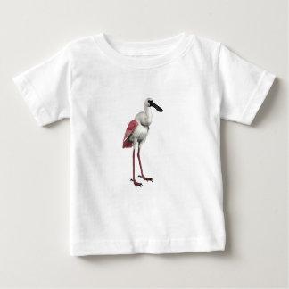 ベニヘラサギ ベビーTシャツ