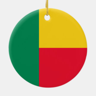 ベニンのオーナメントの旗 セラミックオーナメント