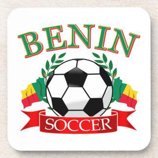ベニンのサッカーのデザイン コースター