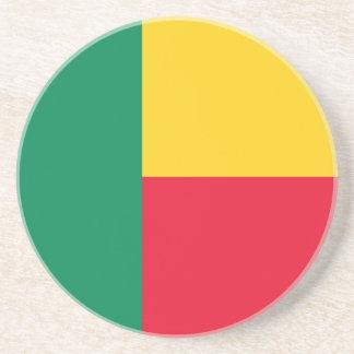 ベニンの旗のコースター コースター