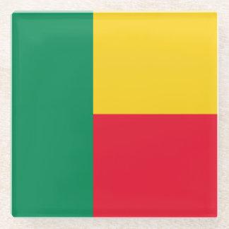 ベニンの旗 ガラスコースター
