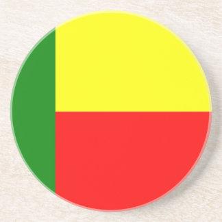 ベニン、アフリカの旗 コースター