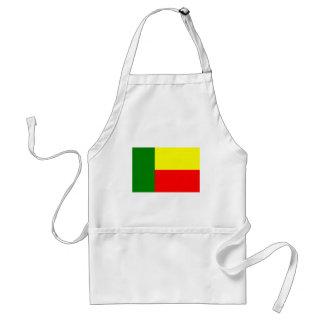 ベニン、アフリカの旗 スタンダードエプロン