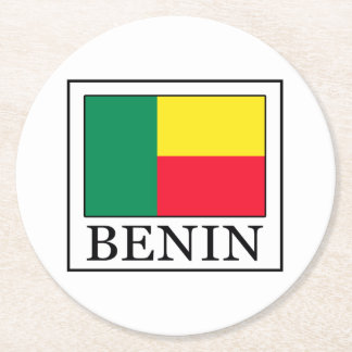 ベニン ラウンドペーパーコースター